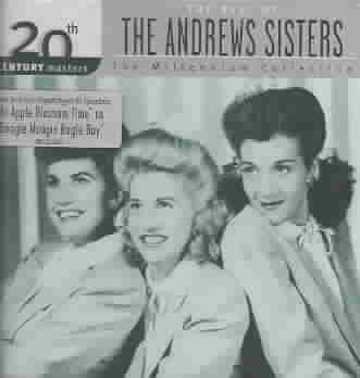20TH CENTURY MASTERS:MILLENNIUM COLLE BY ANDREWS SISTERS (CD)