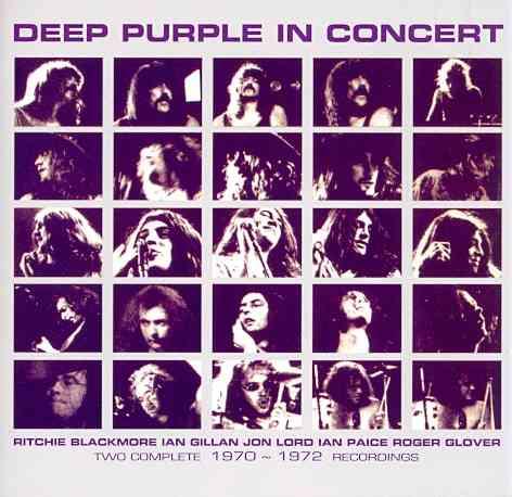 IN CONCERT 1970/1972 BY DEEP PURPLE (CD)